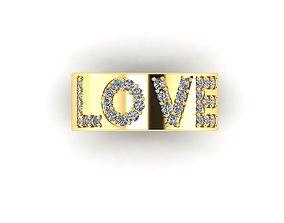 3D print model New Design Love Ring