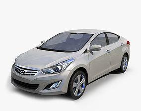 Hyundai Elantra 2012 CHINA 3D
