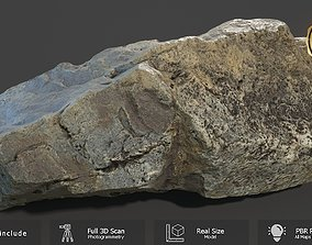 3D asset Mountain Rock Scan A
