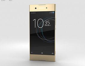 Sony Xperia XA1 Gold 3D