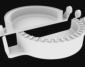 Mold for snacks whit socket stl for 3D printing