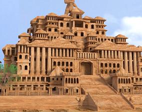 3D castle palace