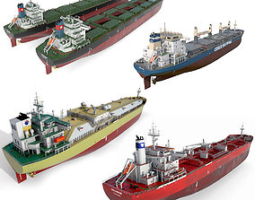 Ships collection 02 hquality 3D