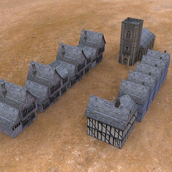 Medieval Buildings 3