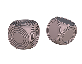 Machinae Dice 3D print model