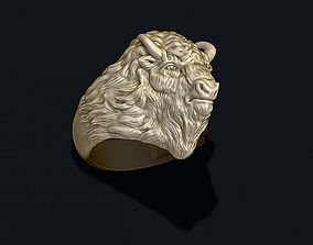 Buffalo ring 3D printable model