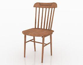 3D PBR Wooden Chair