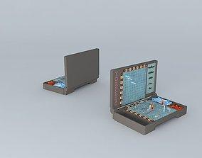 Battleship Board Game 3D model