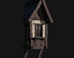 3D model Tudor dormer