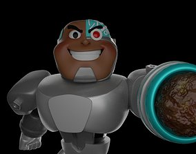 Cyborg-Teen Titans Go-15Cm 3D printable model