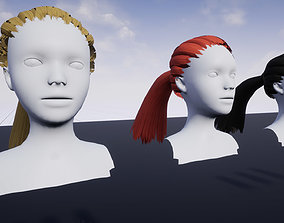 Hairstyle 3 3D model