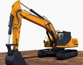 Excavator 3D backhoe