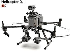 Helicopter DJI Matrice 300 RTK Combo 3D model