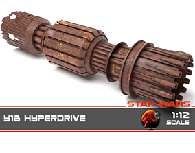 3D print model Dowager Queen - Y18 Hyperdrive 1-12 scale