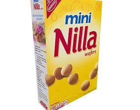 3D asset Nabisco Mini Nilla Wafers 11 OZ