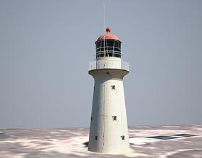 3D model Bustard Head Lighthouse