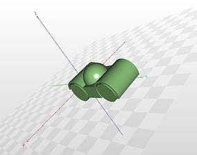 3D print model Baby racing car toy