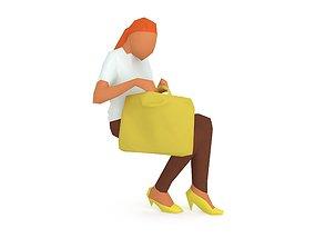 Woman 1k 771 3D model