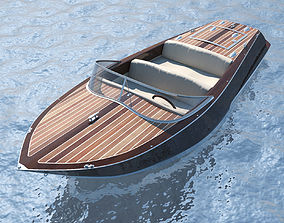 Speedboat high 3D model