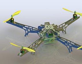 quadcopter Quadcopter 3D model