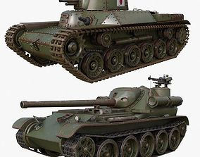 3D Tank Collection Mental ray 003