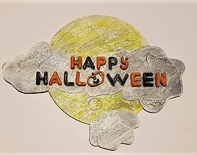 Happy Halloween Sign 3D printable model