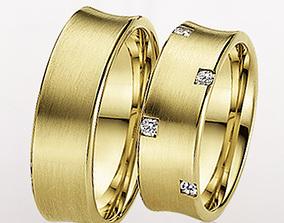 3D printable model Wedding ring 038