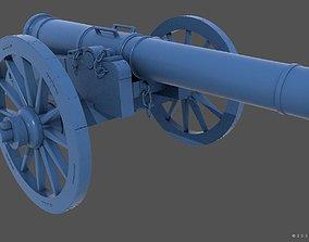 3D print model XVIII century cannon