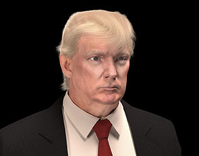 Donald Trump 3D rigged