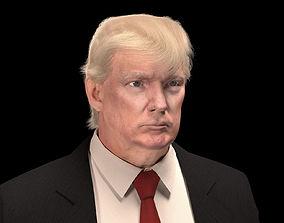 3D rigged Donald Trump