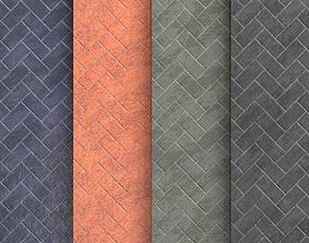 Materials 4- Brick Tiles PBR 3D