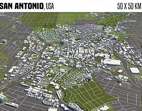 San Antonio 3D model