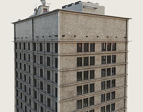 Building Skyscraper City Town Downtown Office 3D model 2