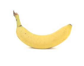 low-poly Banana 3D model photoscan