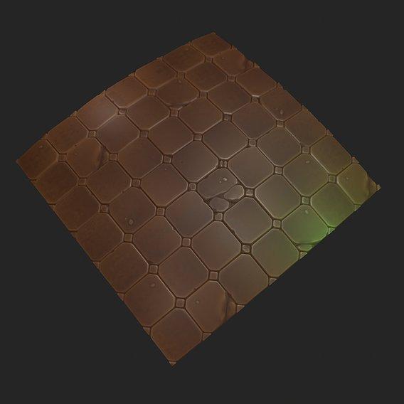 Floor Tile Material - Heroes of the storm Fan Art