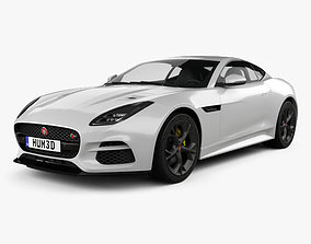3D model Jaguar F-Type R Coupe 2017