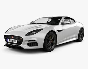 3D model Jaguar F-Type R Coupe 2017