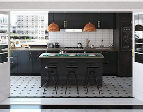 Kitchen Cabinet Design 3d houseware