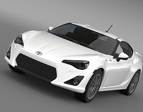 Toyota GT 86 Cup Edition 2014 3D