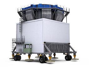 Mobile Bulk Cargo Port Hopper Gantry Crane 3D model