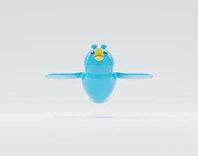 3D Twitter Bird