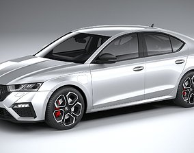 Skoda Octavia Sedan RS 2020 3D model