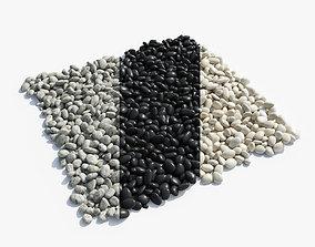 Pebbles 3D decoration