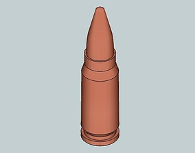 3D print model 5 8x21mm DAP 92 pistol cartridge