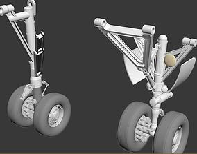 3D landing gears detailed