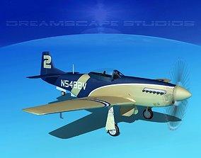 P-51 Mustang Sport V04 3D model