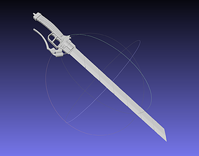 Attack On Titan Sword Printable Assembly Rework