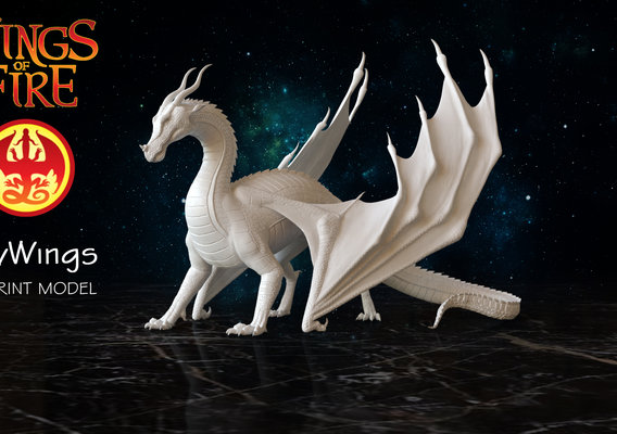 Dragon of Sky Tribe from Wings of Fire