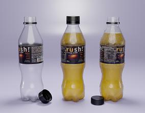 VR / AR ready Plastic Bottle 3D Model - Low Poly