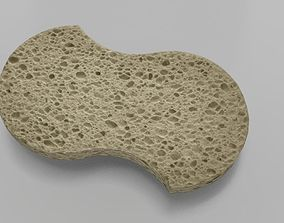 3D asset Sponge - PBR Game-Ready